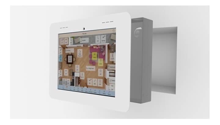 """Bobcat - 10"""" Android Wall Panel - Smart Home Building Automation"""