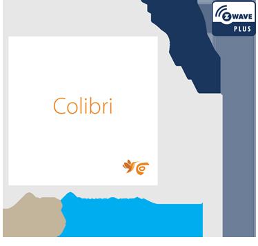 Colibri Z-Wave wiring diagram