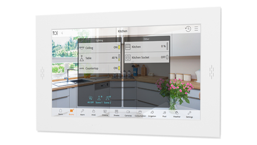 "Dozer - 22"" Android Wall Panel - Smart Home Building"